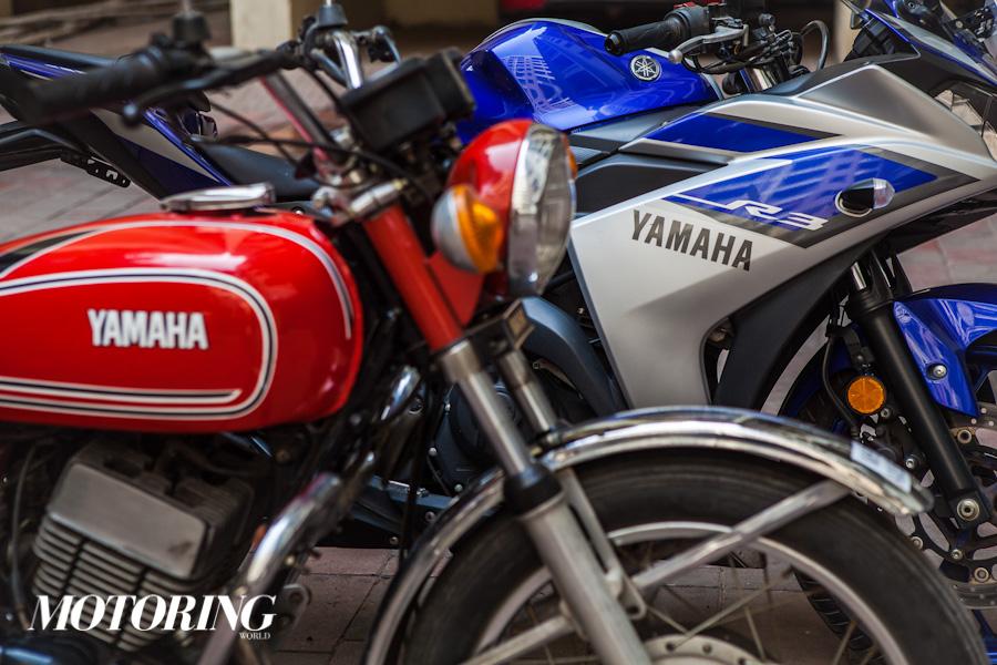 Yamaha RD350 Yamaha R3 (2)