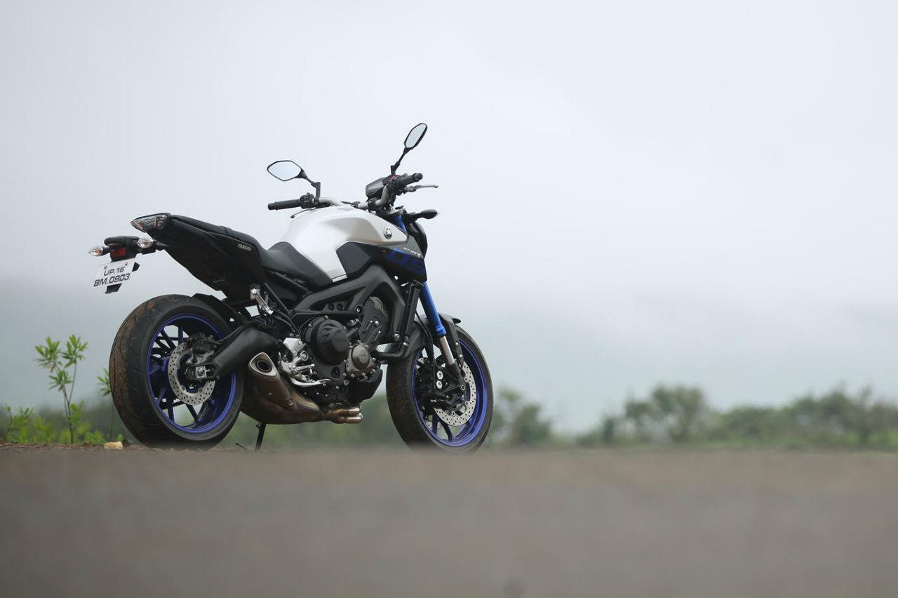 Yamaha MT-09 Rear