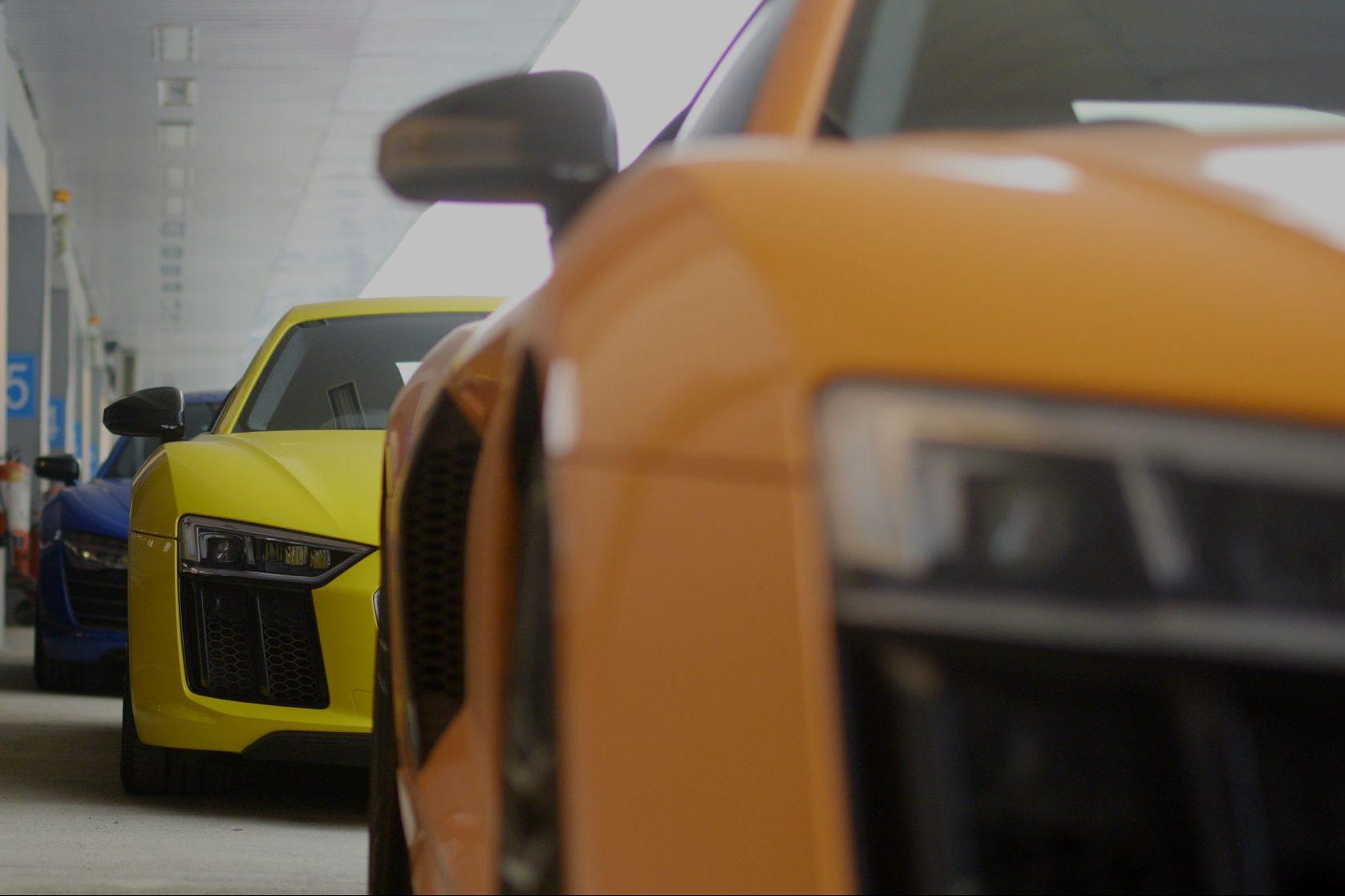 Audi R8 V10 Plus Racetrack