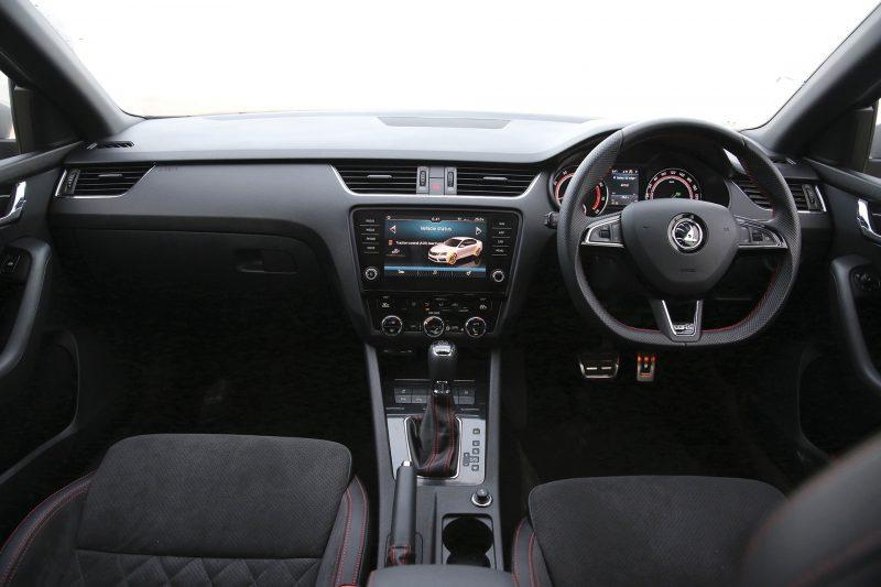 Skoda Octavia vRS interior