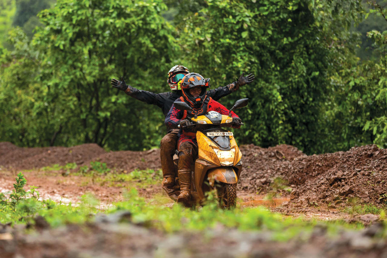 Pune Off-Road Expedition TVS NTorq