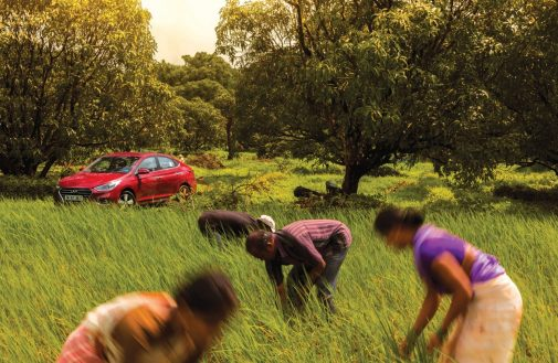 Hyundai Verna Travel Farm of Happiness