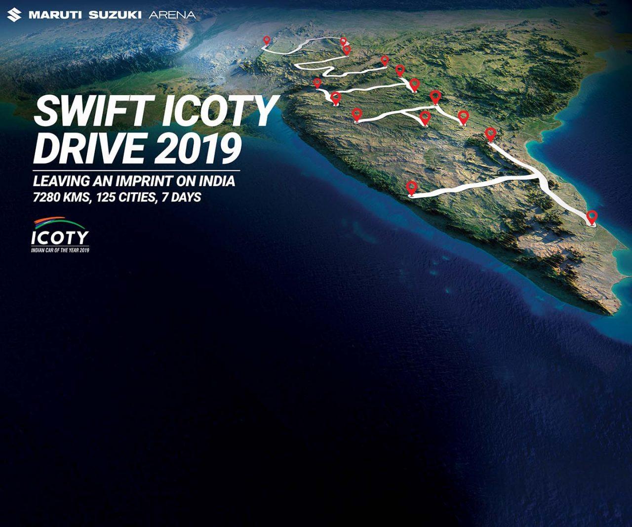 Swift ICOTY Drive 2019