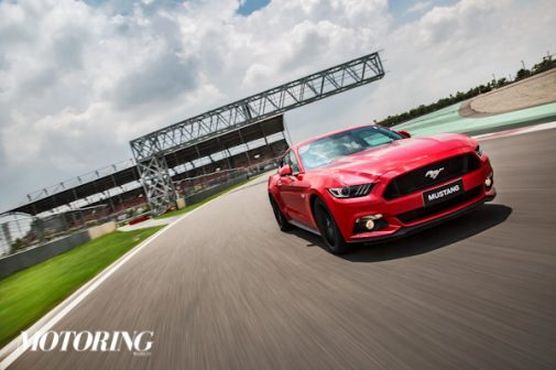 Ford Mustang motion photos India