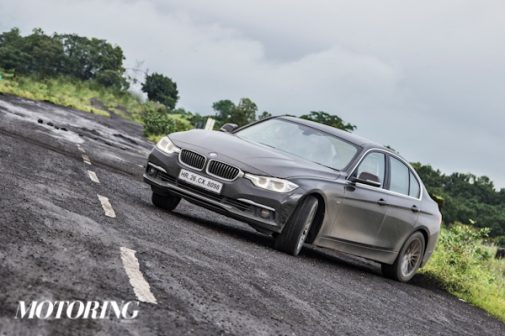 BMW 320i Review Drift Sideways India
