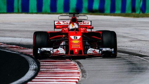 Ferrari at Hungarian GP 2017