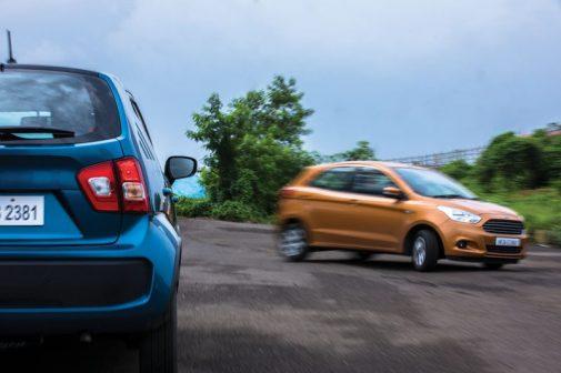Suzuki Ignis vs Ford Figo Ka+