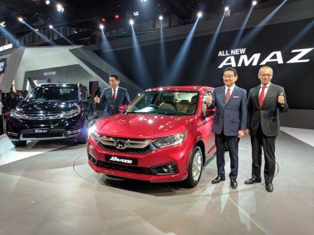 Honda Amaze Auto Expo